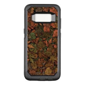 Funda Commuter De OtterBox Para Samsung Galaxy S8 Verdes del camuflaje de las hojas del roble del
