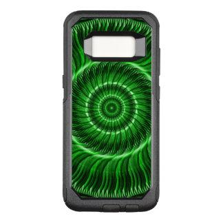 Funda Commuter De OtterBox Para Samsung Galaxy S8 Vigilante de la mandala verde