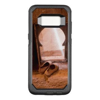 Funda Commuter De OtterBox Para Samsung Galaxy S8 Zapatos marroquíes en la ventana