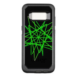 Funda Commuter De OtterBox Para Samsung Galaxy S8 Zigzag verde
