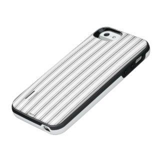 Funda Con Batería Para iPhone SE/5/5s El hacer tictac estrecho del colchón del blanco