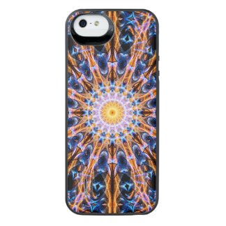 Funda Con Batería Para iPhone SE/5/5s Mandala de la estrella de la alquimia