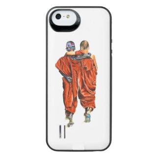 Funda Con Batería Para iPhone SE/5/5s Monjes budistas