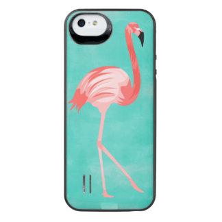 Funda Con Batería Para iPhone SE/5/5s Pájaro del flamenco