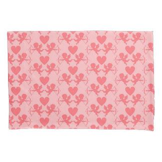 Funda de almohada rosada