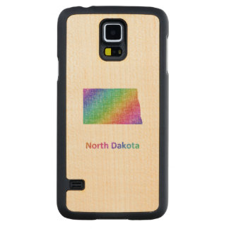 Funda De Arce Para Galaxy S5 De Carved Dakota del Norte