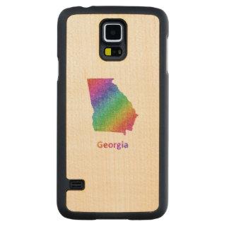 Funda De Arce Para Galaxy S5 De Carved Georgia
