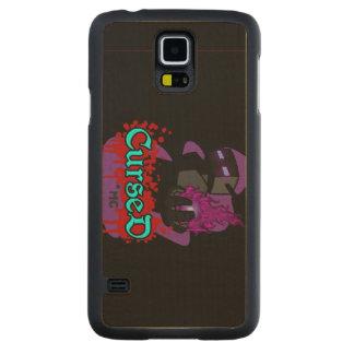 Funda De Arce Para Galaxy S5 De Carved La galaxia S5 de CursedMc adelgaza el caso de
