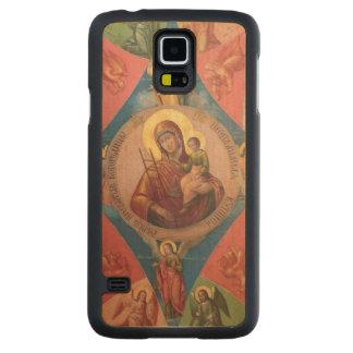 Funda De Arce Para Galaxy S5 De Carved Maria, Jesús, y ángeles