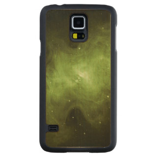 Funda De Arce Para Galaxy S5 De Carved Nebulosa de cangrejo, remanente de la supernova,