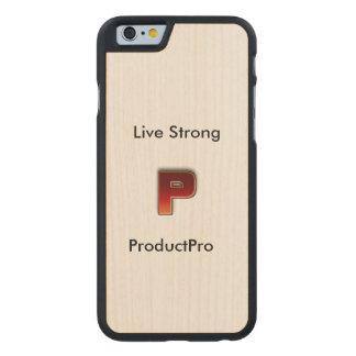 Funda De Arce Para iPhone 6 De Carved Caso de ProductPro 6/6s