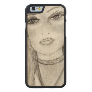 Funda De Arce Para iPhone 6 De Carved Maria divina