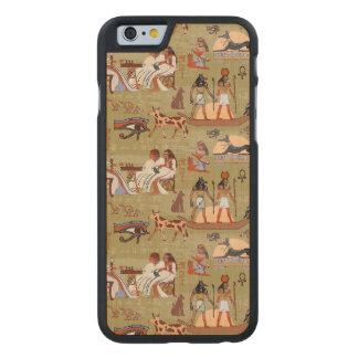 Funda De Arce Para iPhone 6 De Carved Modelo de los símbolos de Egipto el |
