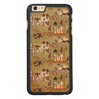 Funda De Arce Para iPhone 6 Plus De Carved Modelo de los símbolos de Egipto el |