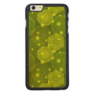 Funda De Arce Para iPhone 6 Plus De Carved Modelo de lujo floral de la mandala