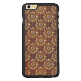 Funda De Arce Para iPhone 6 Plus De Carved Modelo floral étnico abstracto colorido de la