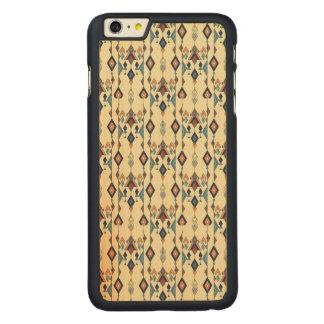 Funda De Arce Para iPhone 6 Plus De Carved Ornamento azteca tribal étnico del vintage