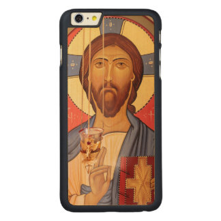 Funda De Arce Para iPhone 6 Plus De Carved Pintura de Jesús