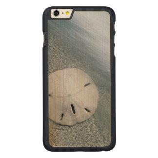 Funda De Arce Para iPhone 6 Plus De Carved Sanddollar en la isla de la playa el | Sanibel, la