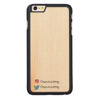 Funda De Arce Para iPhone 6 Plus De Carved Synch calificó el iPhone 6/6s más el caso