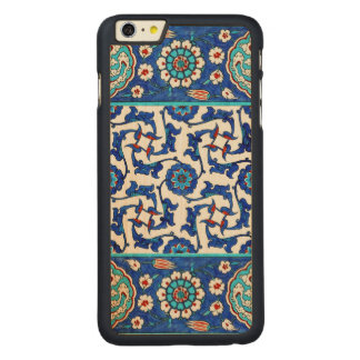 Funda De Arce Para iPhone 6 Plus De Carved teja del iznik