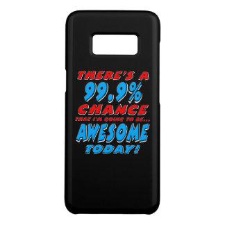 Funda De Case-Mate Para Samsung Galaxy S8 99,9% El IR A SER IMPRESIONANTE (blanco)