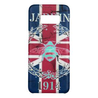 Funda De Case-Mate Para Samsung Galaxy S8 Abeja rústica del francés del jubileo de la reina