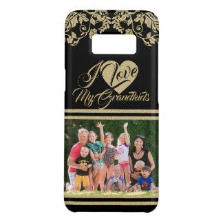 Funda De Case-Mate Para Samsung Galaxy S8 Ame mi Grandbabies con la foto