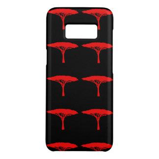 Funda De Case-Mate Para Samsung Galaxy S8 Árbol de paraguas rojo