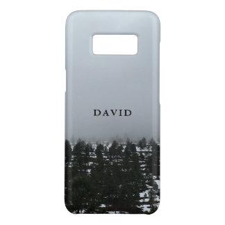 Funda De Case-Mate Para Samsung Galaxy S8 Árboles de la montaña de la lava Nevado
