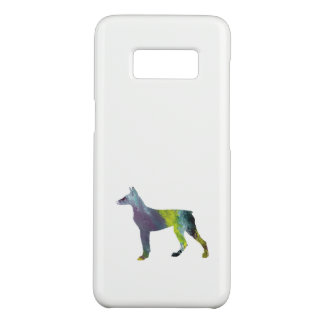 Funda De Case-Mate Para Samsung Galaxy S8 Arte del Pinscher del Doberman