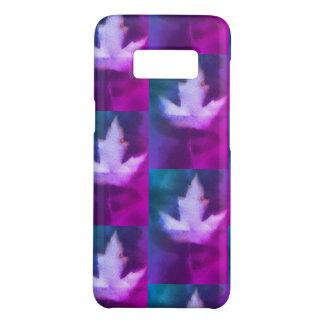 Funda De Case-Mate Para Samsung Galaxy S8 Arte orgánico elegante azul púrpura de la hoja de