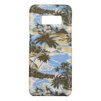 Funda De Case-Mate Para Samsung Galaxy S8 Azul de cielo escénico de la isla hawaiana de la