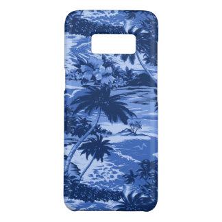 Funda De Case-Mate Para Samsung Galaxy S8 Azul escénico de la isla hawaiana de la bahía de