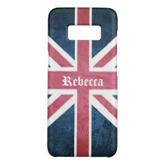Funda De Case-Mate Para Samsung Galaxy S8 Bandera británica del Union Jack de Reino Unido