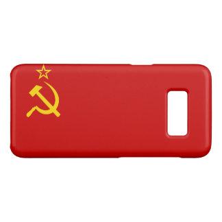 Funda De Case-Mate Para Samsung Galaxy S8 Bandera de URSS
