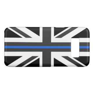 Funda De Case-Mate Para Samsung Galaxy S8 Bandera fina de Blue Line Reino Unido