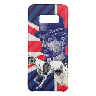 Funda De Case-Mate Para Samsung Galaxy S8 Bandera inglesa del Union Jack de la cabina de