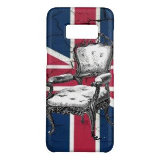 Funda De Case-Mate Para Samsung Galaxy S8 Bandera rococó del Union Jack de Reino Unido de la
