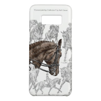 Funda De Case-Mate Para Samsung Galaxy S8 Caballos recogidos FEI del Dressage