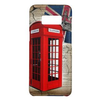 Funda De Case-Mate Para Samsung Galaxy S8 cabina de teléfono roja de la corona del jubileo
