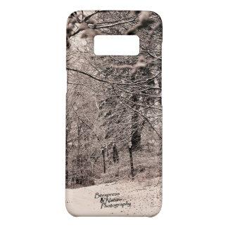 Funda De Case-Mate Para Samsung Galaxy S8 Caja 3,0 del teléfono del bosque del invierno