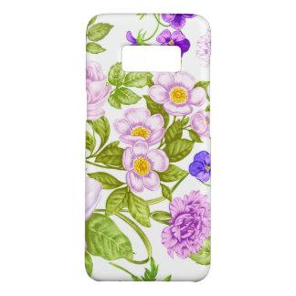 Funda De Case-Mate Para Samsung Galaxy S8 Caja floral púrpura de la galaxia S8 de Samsung