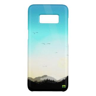 Funda De Case-Mate Para Samsung Galaxy S8 Caja original del teléfono del arte (montañas en