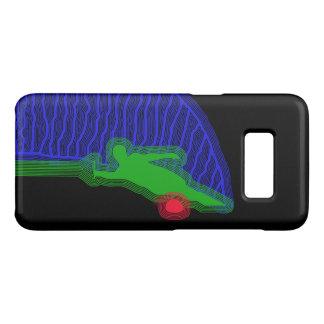 Funda De Case-Mate Para Samsung Galaxy S8 Caja verde y azul del esquí acuático de Samsung de