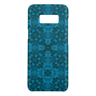 Funda De Case-Mate Para Samsung Galaxy S8 Cajas negras y azules   del teléfono del