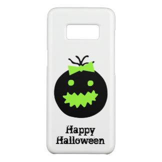 Funda De Case-Mate Para Samsung Galaxy S8 Calabaza linda de Halloween con el arco