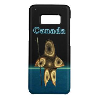 Funda De Case-Mate Para Samsung Galaxy S8 Cazador del Inuit del fractal - Groenlandia