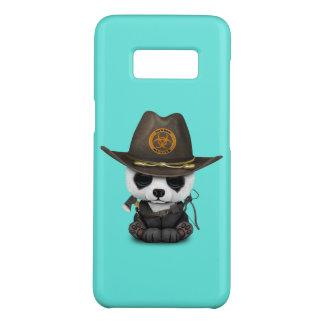 Funda De Case-Mate Para Samsung Galaxy S8 Cazador del zombi del oso de panda del bebé