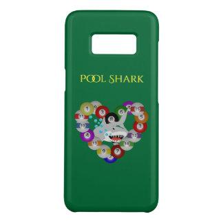 Funda De Case-Mate Para Samsung Galaxy S8 Corazón del tiburón de la piscina del tiburón de